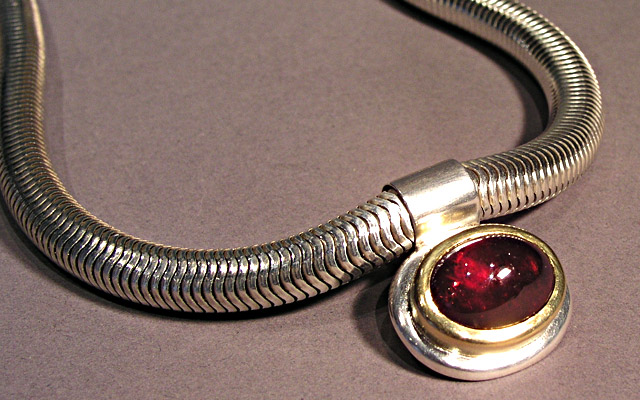 Halskette der Silbermine Hamburg
